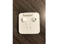 Official Apple earphones with adapter