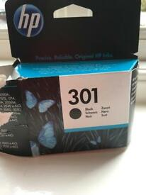 Genuine HP 301 black cartridge