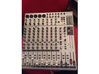Phonic 12 channel mixing desk with full vocal effects