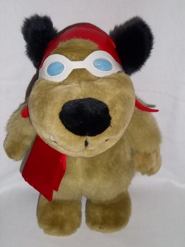 1997 Warner Bros Store Plush MUTLEY Dog WACKY RACERS Hanna Barbera Large Stuffed