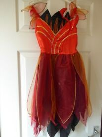 Fancy dress red devil Halloween dress