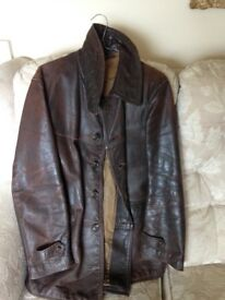 WW2 German Leather Jacket