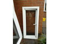 2 x white double glazed windows