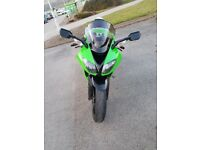kawasaki zx10r 2009 58 plate low mileage 10k vgc may px not zx6r,zx9r,636 zzr