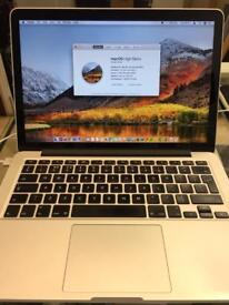 MACBOOK PRO 13 INCH RETINA MID 2014 WITH 3 MONTHS APPLE CARE WARRANTY ***SUPER MINT CONDITION***