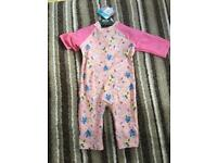 Girls TU SunSafe Suit - 3-4yrs - New with tags!
