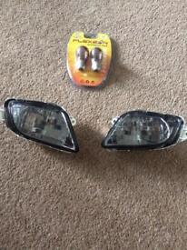 Honda Blackbird Smoked Front Indicator Lens