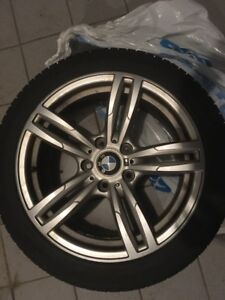 BMW M mags with winter tires 225/45R17
