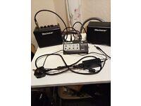 Black star portable amp fot busking