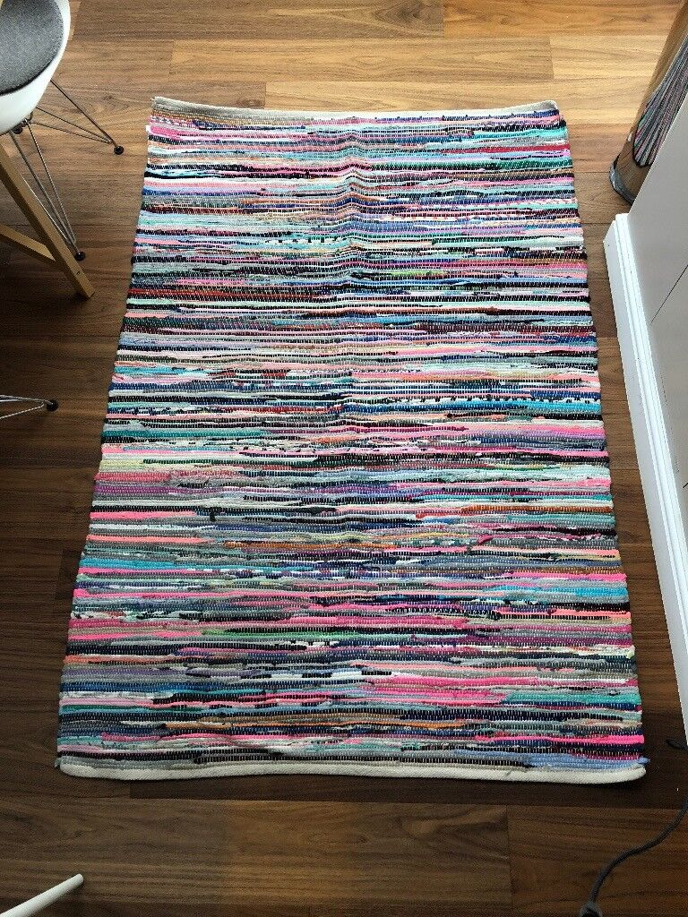 Recycled Handmade Multicoloured Cotton