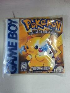 Pokemon Yellow Version. 5827