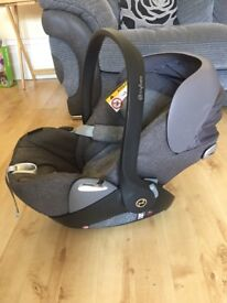 Cybex cloud Q plus care seat 0+ excellent condition