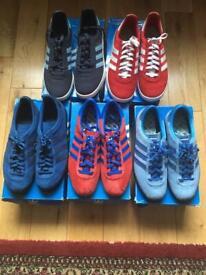 Adidas trainers superstar retro 80s Style size 9 | in Pontypridd, Rhondda Cynon Taf | Gumtree