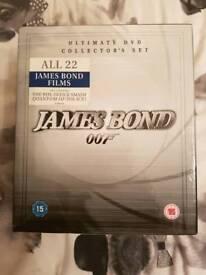 James bond dvd box set