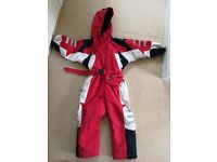 Ski suit for a child