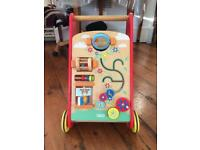 Wood baby walker Tidlo, v good condition