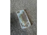 IPhone SE case. Glitter Gell