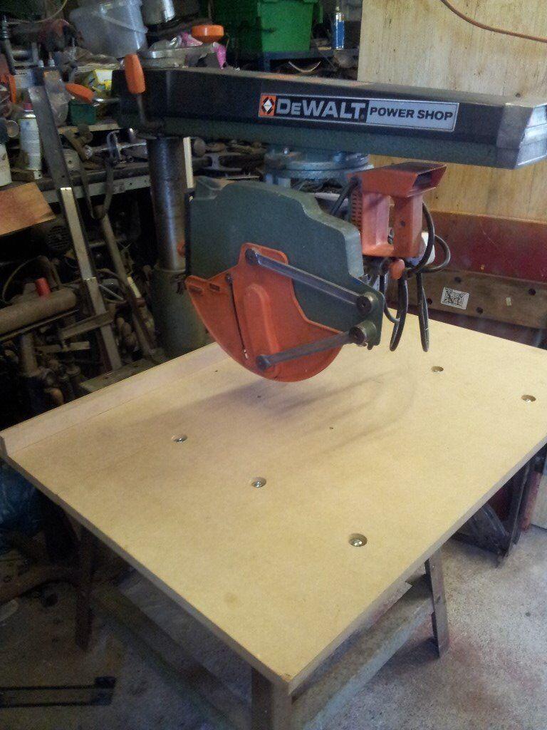 Dewalt Dw 125 Power Shop Radial Arm Saw In Camelford