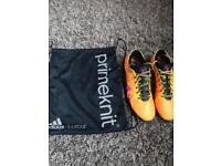 Adidas X15+ Primeknit UK 9.5 Football Boots