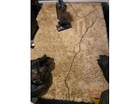 Large mustard rug