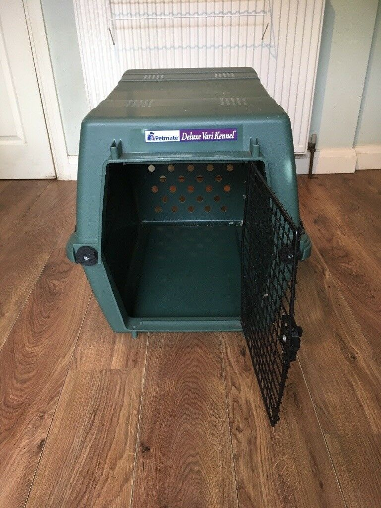 Delux Large Dog Crate / Cage / Travel System