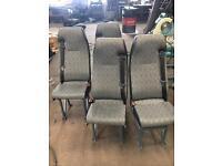 Van Conversion bus seats.