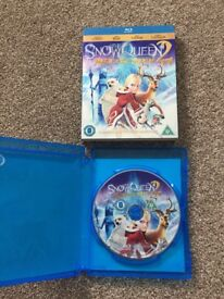 The snow queen 2, magic of the ice mirror blue ray DVD
