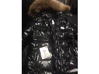 Moncler coat size 2