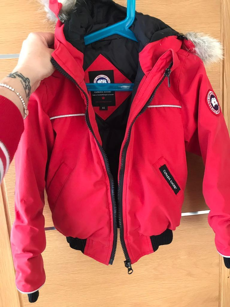 0936a7900045 Canada goose rundle bomber red