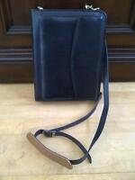 BRAND NEW BLACK LEATHER FRANKLIN DAY PLANNER BOOK