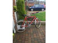 ladys raliegh hybrid bike