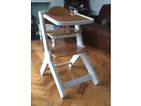 NOAH by bababing wooden highchair