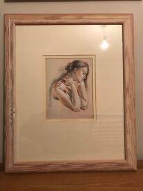 Framed, Glazed Picture, Portrait