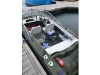 Fishing /shooting boat