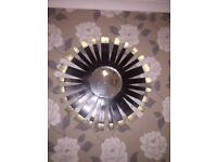 Large wall mirror,