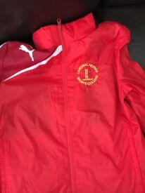 School jumper and jacket