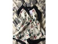 Women's beautiful Oh My Love playsuit size M 10/12