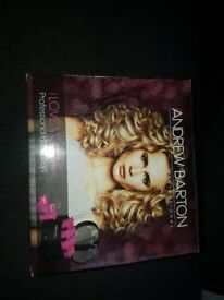 Andrew Barton Professional hot ROLLERS NEW & UNOPENED