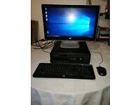 HP G1 800 Core i3 4130 Multimedia Desktop PC for Sale.