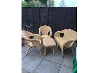 4 piece conservatory furniture
