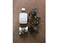 PSone console , 1 contoller + 1 memory card