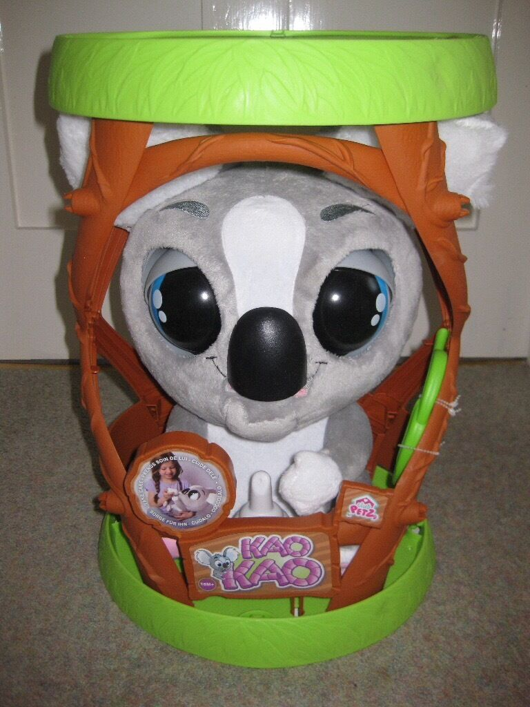 Interactive koala toy (brand new30in Southampton, HampshireGumtree - Kao kao kolala £30 Really cute interactive koala – talks, feeds and eats and goes to sleep when soothed. Brand new. Unwanted gift. Never unpacked. Collection only
