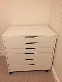Ikea alex 6 drawer unit