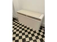 Dwell Zapato Shoe cupboard with seat