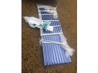 Vistalux plastic corrugated sheeting + fixings