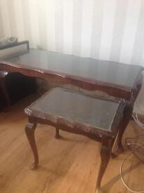 Coffee table and side table £15