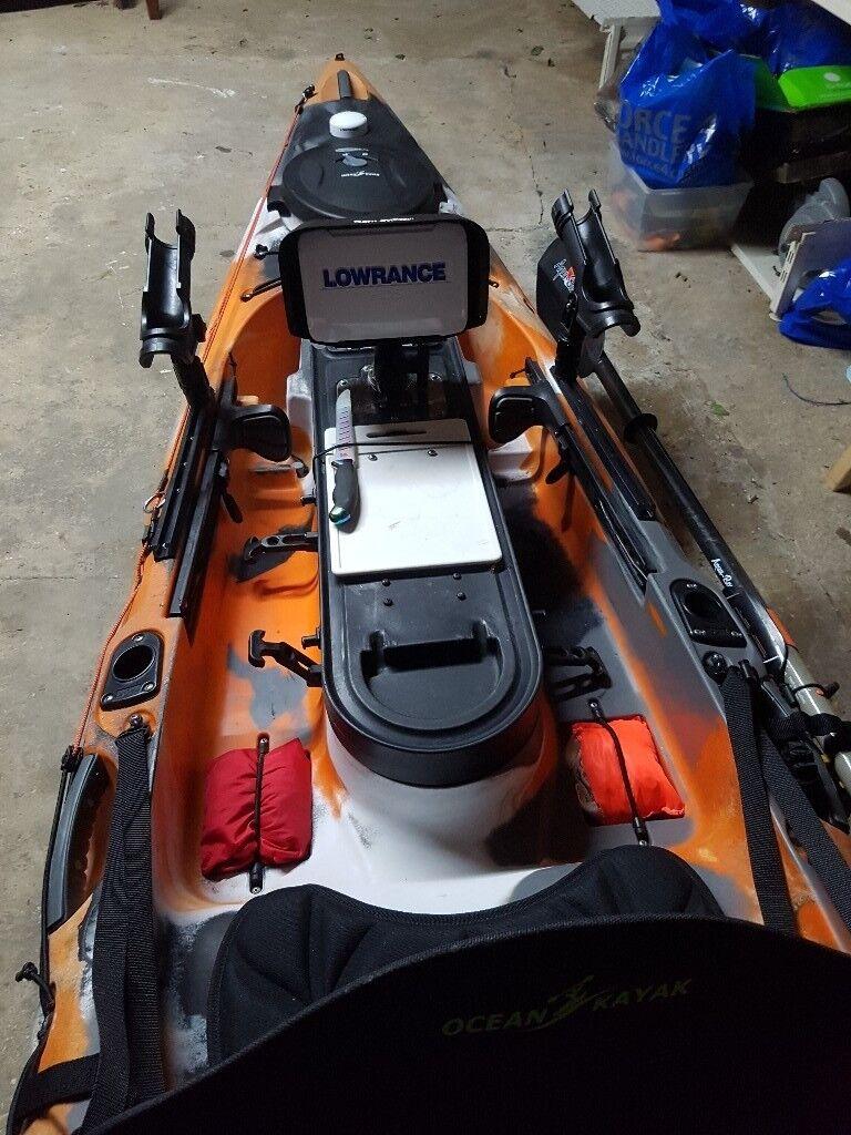 Ocean kayak trident ultra 4 3 with rudder | in Lymington, Hampshire |  Gumtree