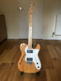 Fender Thinline '72 Electric Guitar (& FREE hardcase)