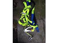 Safety harness building site etc roofers