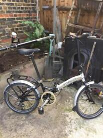 Nice clean Apollo Transition folding bike 🚲